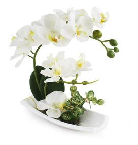 Arreglos De Flores De Orquídeas Artificiales Con Jarrón