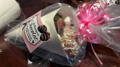arreglos de fresas con chocolate para regalar