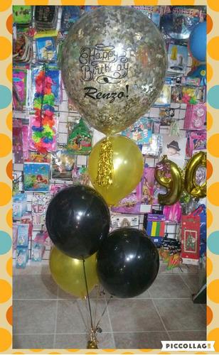 arreglos de globos con helio.