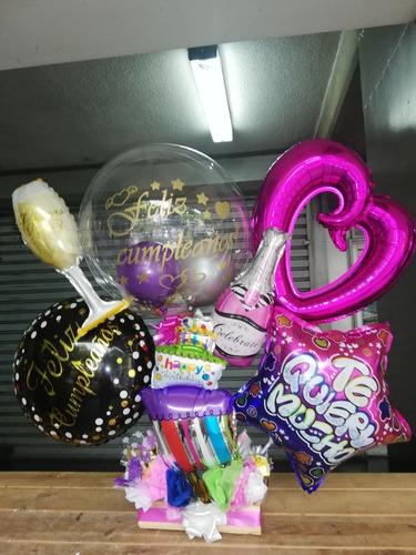 arreglos de globos y flores globos con helio decoraciones