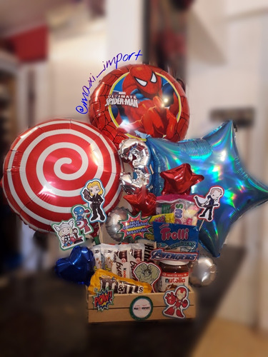arreglos de globos y golosinas