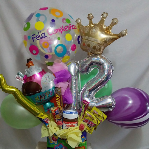 arreglos de globos y golosinas bethelfloristeria