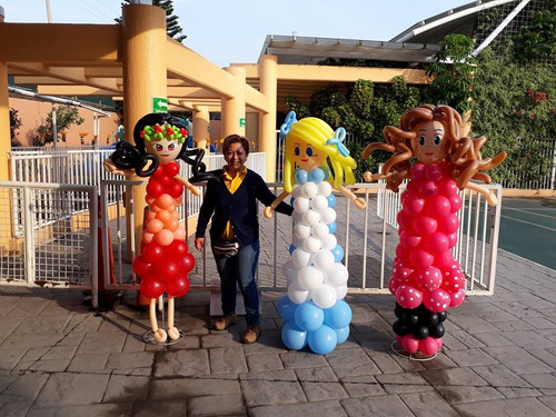 arreglos decoracion globos pompones telas fiestas eventos
