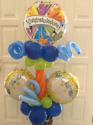 arreglos en globos, regalos, englobados, decoraciones