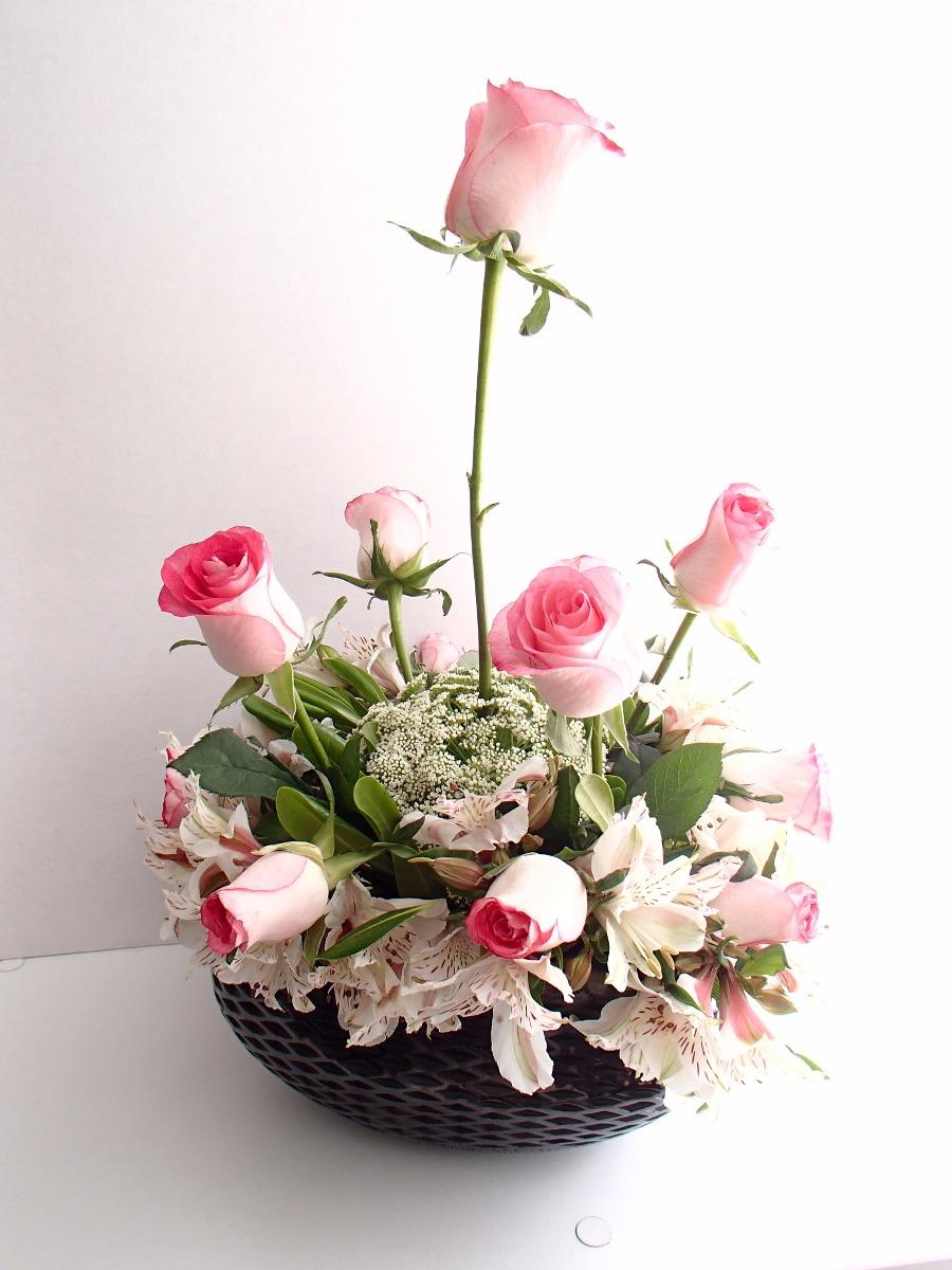 arreglos florales artesanales para fiesta centros de mesa