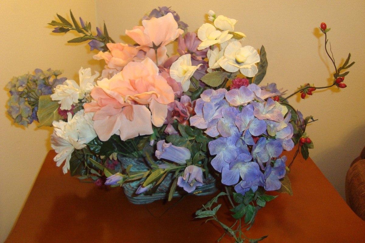 Arreglos florales artificiales en mercado libre - Arbustos artificiales para decoracion ...