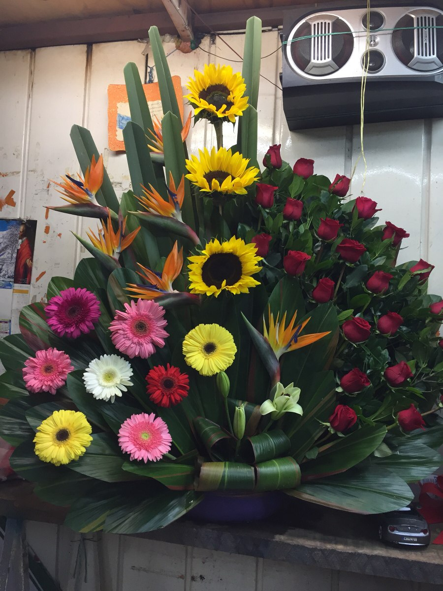 Arreglos Florales Cdmx Df Rosas Tulipanes Gerberas Girasoles