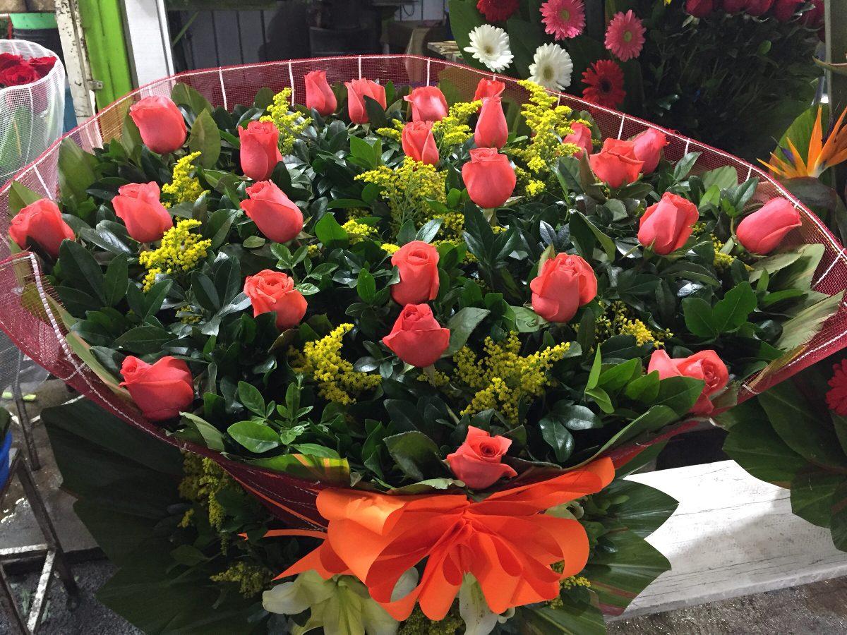 Arreglos Florales Con Rosas Gerbera Entrega En Cdmx Df 129900
