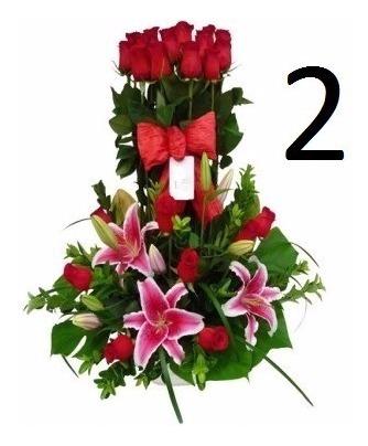 Arreglos Florales Cumpleaños Aniversarios Rosas Tulipanes