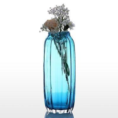 arreglos florales de soplado a mano acanalada diseño forma