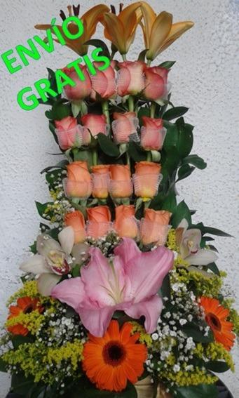 Arreglos Florales Economicos Flores Ramos Florales Bogota 89990