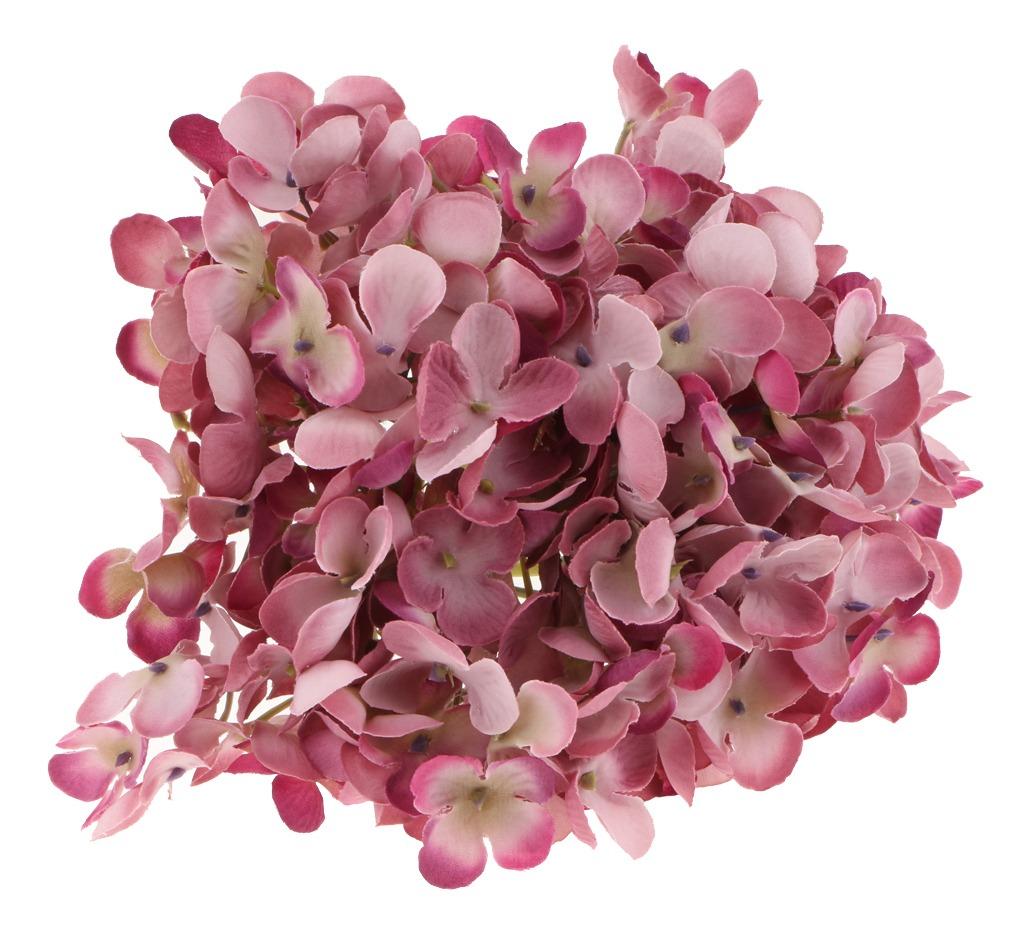 Arreglos Florales Flor Hortensia Artificial De Seda