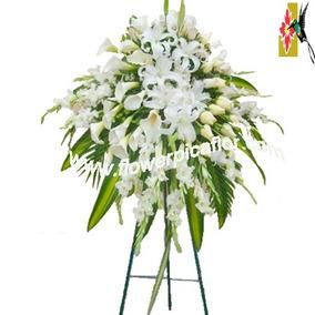 Arreglos Florales Para Difunto Corona Fúnebre Lágrimas