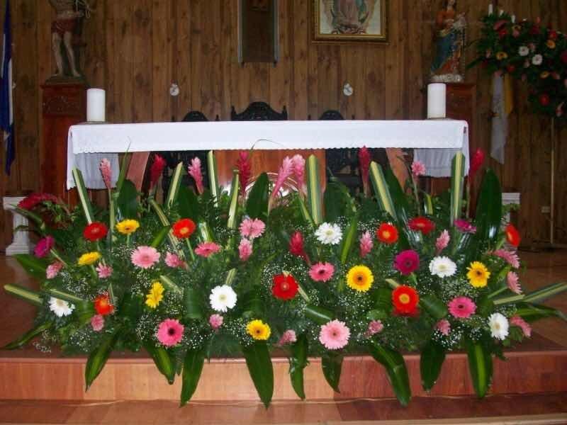 Arreglos Florales Grandes Para Iglesias