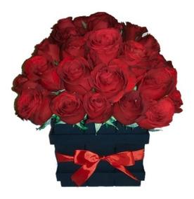 Arreglos Florales Rosas Rojas Naturales Cdmx