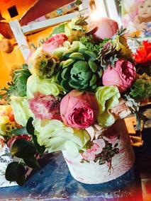 Arreglos Florales Tipo Vintage Shaby Chic Bodas Eventos