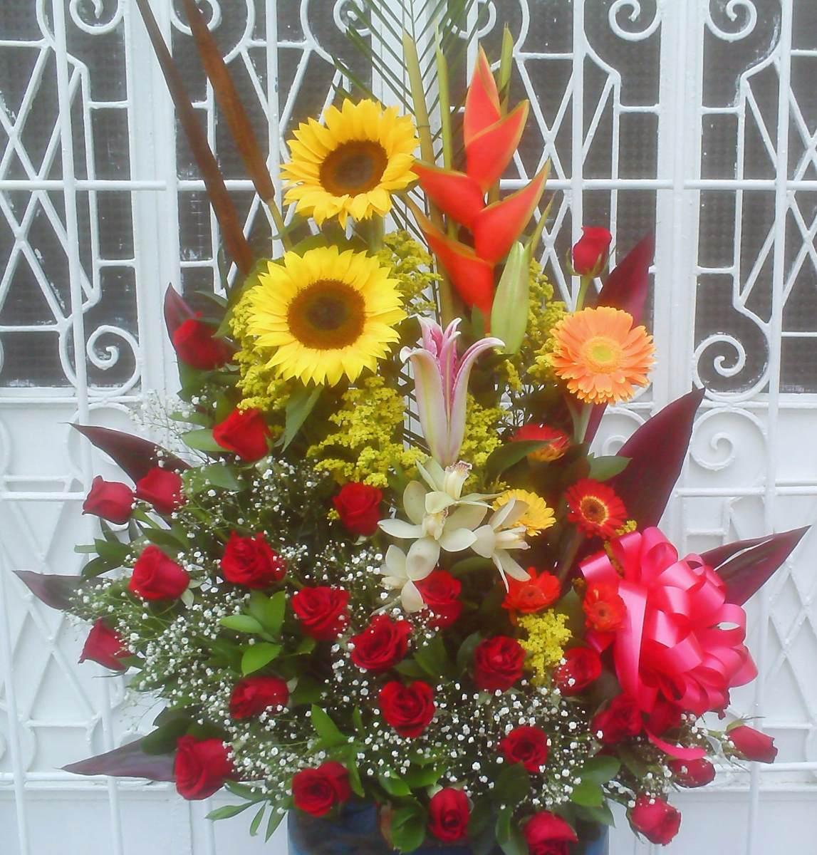 Arreglos Flores Rosas Detalle Dia De La Madre