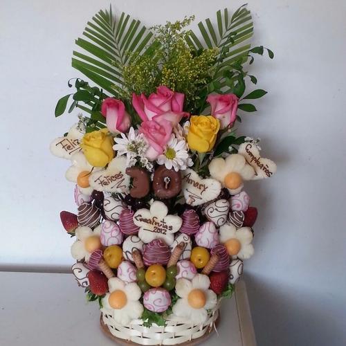arreglos frutales creafrutas ramos de frutas y flores chocol