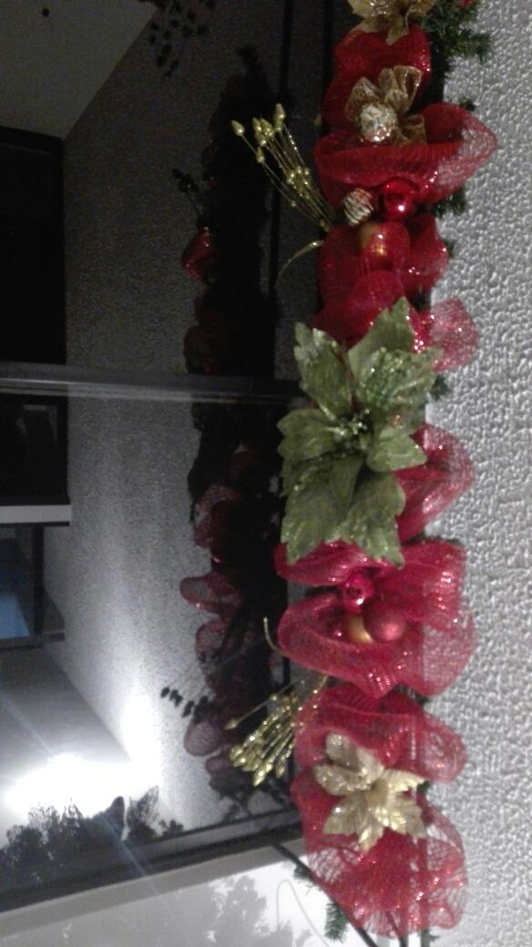 Arreglos Navidenos Arreglos De Flores Para Navidad Rojos Y - Arreglos-navideos