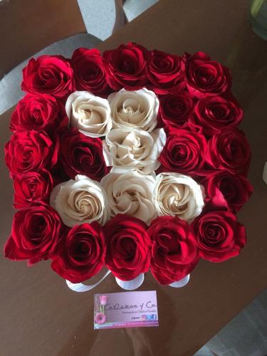 arreglos y ramos de flores -diseños innovadores-cajas