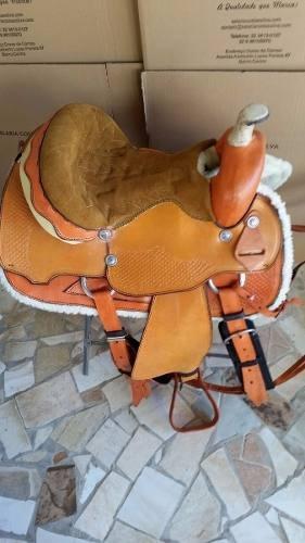 arreio de cavalo americana prova de laço luxo