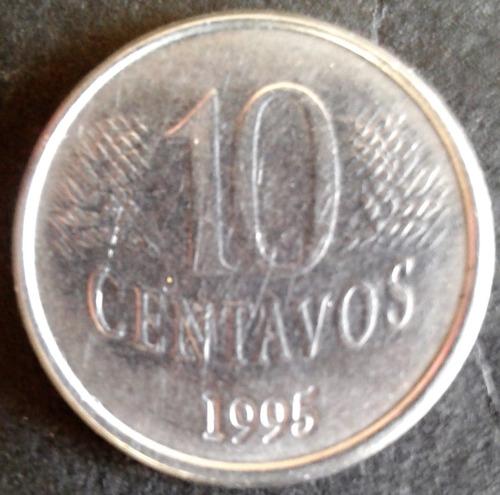 arremate fao 10 centavos 1995 - linda moeda   nº 2