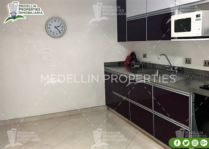 arrendamientos de apartamentos en medellín cód: 4664
