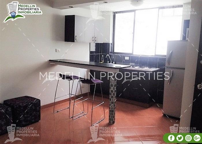 arrendamientos de apartamentos en medellín cód: 4671
