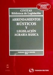 arrendamientos rústicos y legislación agraria básica(libro )