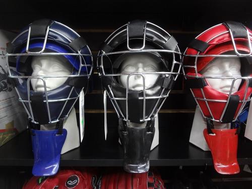 arreos catcher beisbol prof 3 colores  palomares genuino