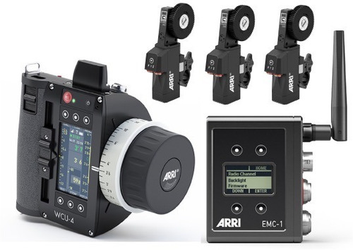 arri ecs wireless compaq unit wcu-4 3 axis wireless 3 motor