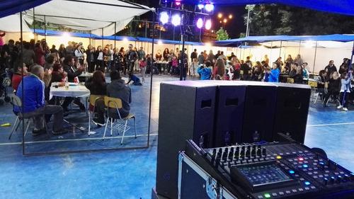 arriendo amplificacion y musica todo evento