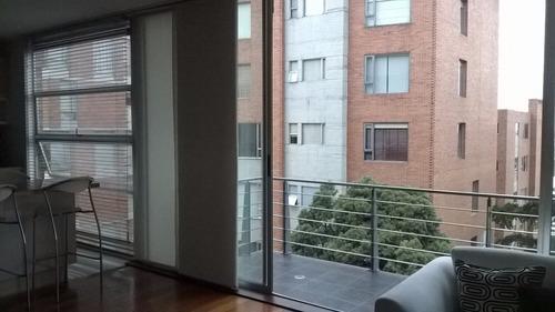 arriendo apartamento amoblado cerca a la zona rosa de bogotá