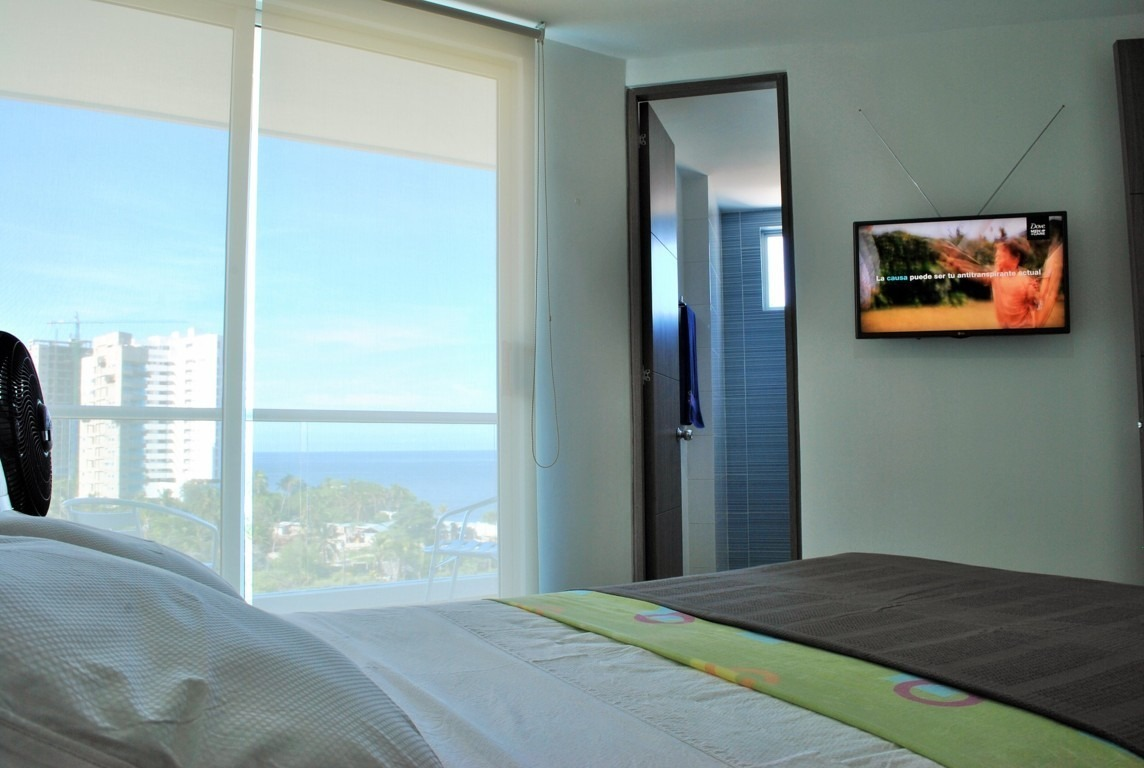 arriendo apartamento santa marta - sector playa salguero