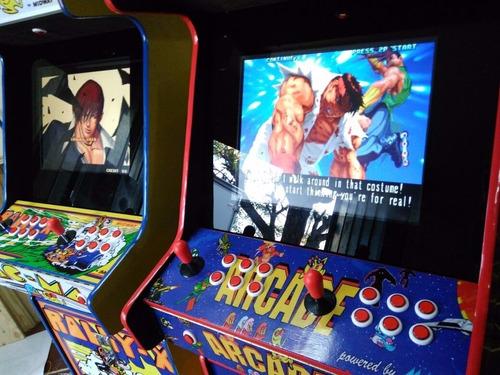 arriendo arcade, elasticas, air hockey, tacas, maipu