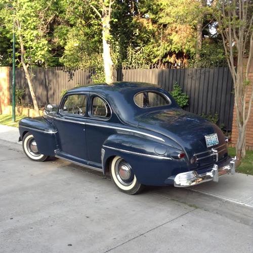 arriendo auto antiguo ford v8 coupe 1946