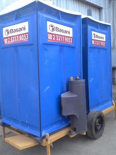 arriendo baño químico portátil estándar (básico)