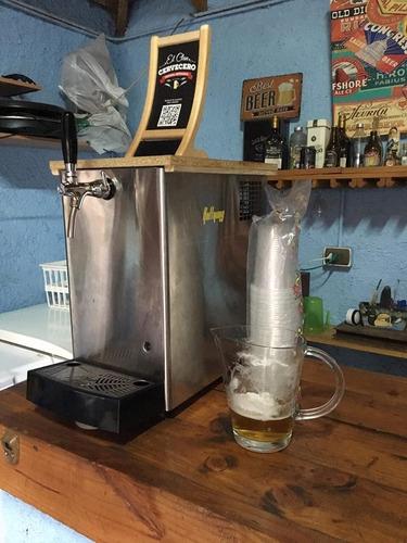 arriendo barra de schop, maquina schopera, cerveza artesanal