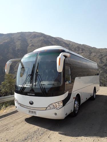 arriendo bus 33 pasajeros impecable