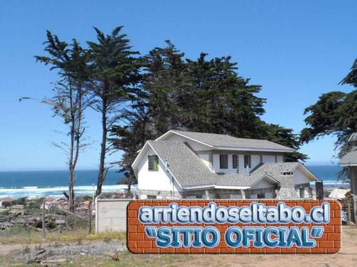 arriendo cabaña casa playa en el tabo