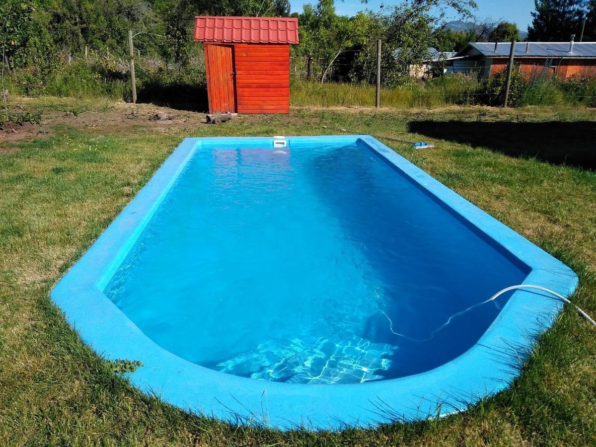 arriendo cabaña con piscina km 50 camino termas de chillán