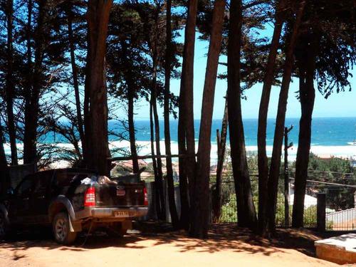 arriendo cabaña en el tabo linda vista al mar y playa