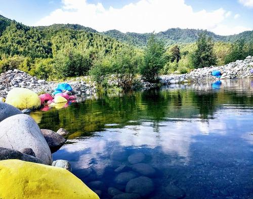 arriendo cabañas c/ piscina, rio ancoa precordillera linares
