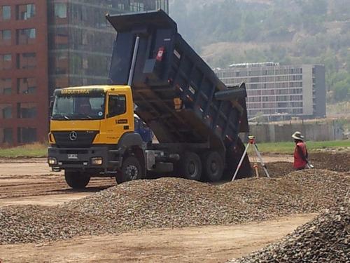 arriendo camiones tolva con autoencarpe y operador