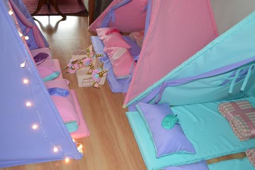 arriendo carpas tipis, pijama party, cumpleaños