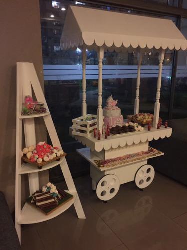 arriendo carrito candy bar