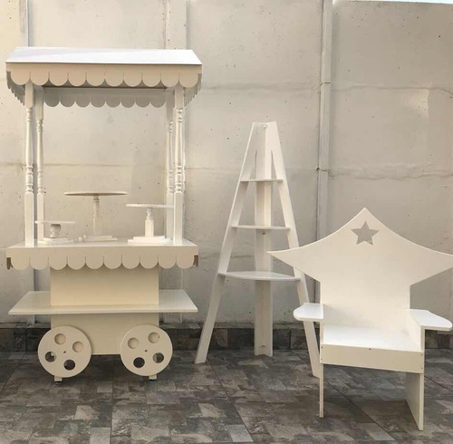 arriendo carrito candy bar, candy cart,