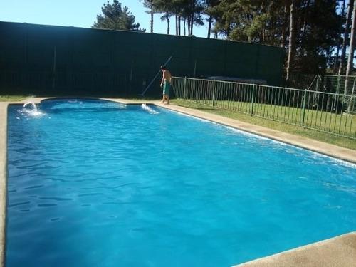 arriendo casa en algarrobo en condominio con piscina