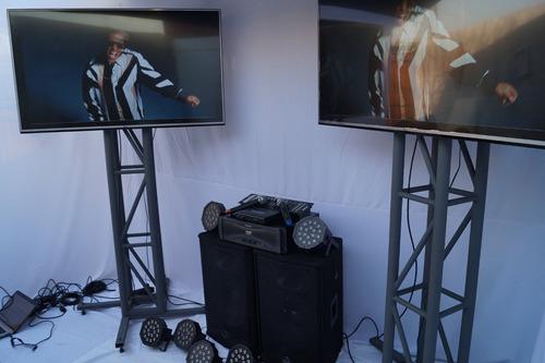 arriendo de amplificación, iluminación y pantallas led