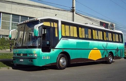arriendo de buses traslado de personal viajes especiales
